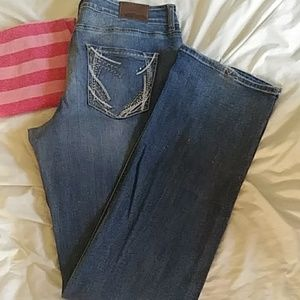 Maurices 15/16 xlong jeans